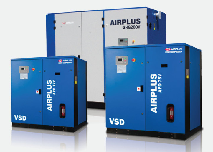 LG  Airplus Screw Compressor - APD-V Series